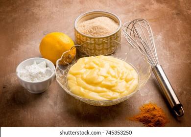 vegan lemon cream for dessert
