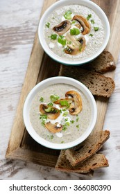 vegan mushroom cream soup