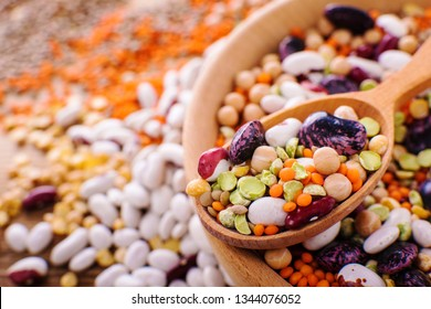Vegan protein source. Legumes - lentils, chickpeas, beans, green mung bean. seeds and nuts