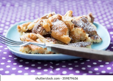 "vegan shredded pancake called ""kaiserschmarrn"""