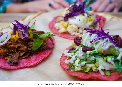Vegan Tacos in Roma Norte Mexico City