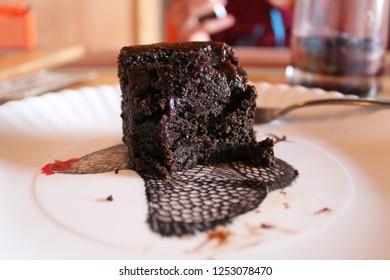 Veganer Schokoladen Brownie, San Cristobal de las casas, todo vegano