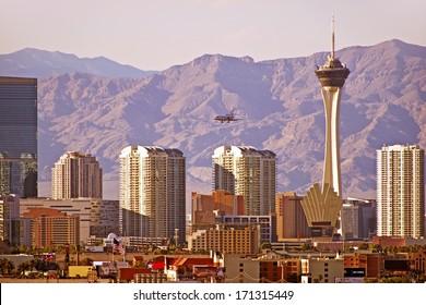 Vegas Cityscape. Las Vegas, Nevada Downtown Skyline. United States. - Shutterstock ID 171315449
