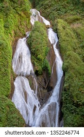Vegas Grande waterfall in Topes de Collantes national park, Cuba