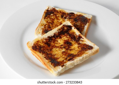Vegemite or Marmite on Toast