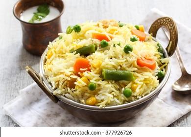Vegetable Biryani / Vegetable Pulao