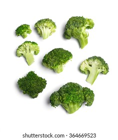 Vegetable. Broccoli on the table