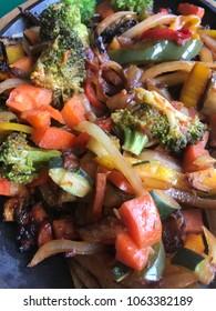Vegetable Fajitas Platter