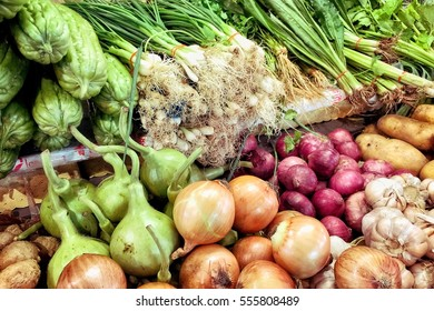 Vegetable in the market