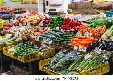 vegetable market ,Melbourne Victoria queen's market