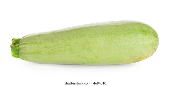 Vegetable marrow isolated over a white background