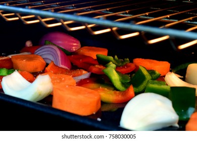 Vegetable in oven