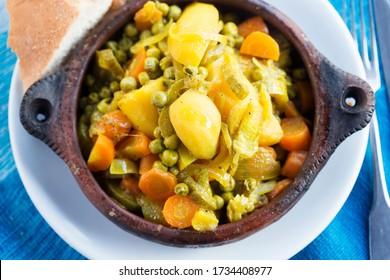 tajine de légumes, 7 légumineuses tajine, Maroc