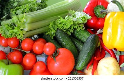 vegetables, close-up