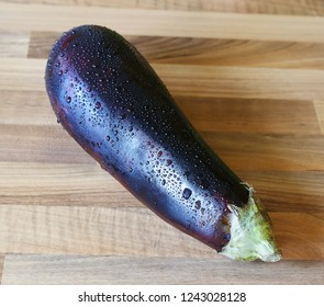 vegetables - fresh eggplant