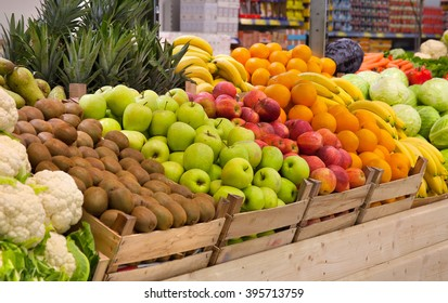 vegetables and fruit mix