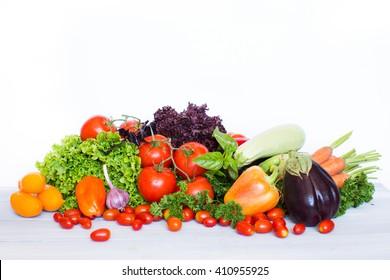 Vegetables. Healthy food.