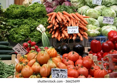 vegetables from the market