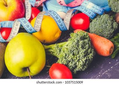 Vegetables slimming.losing weight