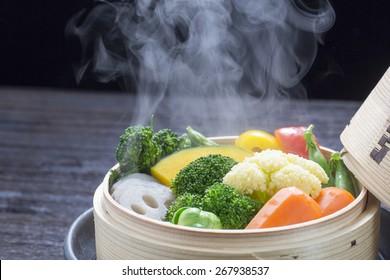 Vegetables, I steaming,