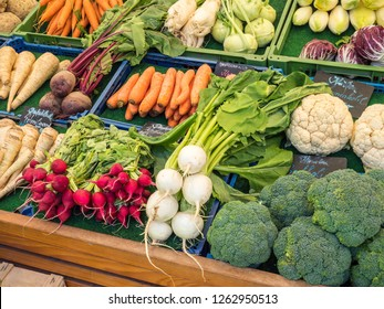 Vegetables at the weekly market