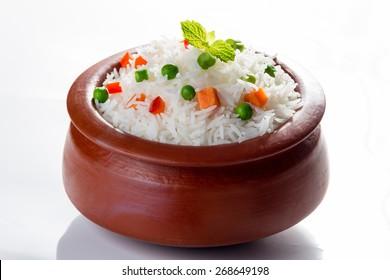 Vegetarian Basmati Rice