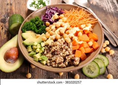 vegetarian bowl meal