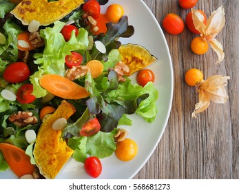 Vegetarian salad plate