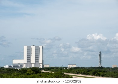 Vehicle Assembly Building, Cape Canaveral, 12/08/2012