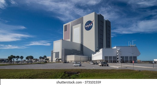The Vehicle Assembly Building at NASA, Kennedy Space Center in Florida, 13th January 2014