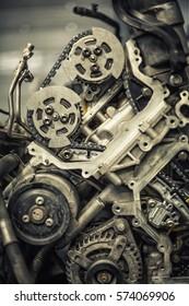 Vehicle car engine