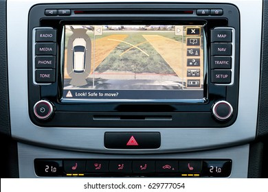 Vehicle In Dash Backup Camera