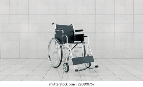 Vehicle for handicapped , wheelchair