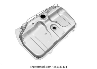 vehicle's fuel tank on a white background