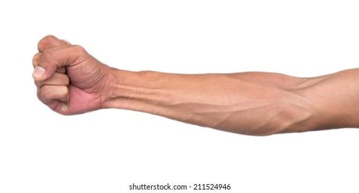 veins in arm blue