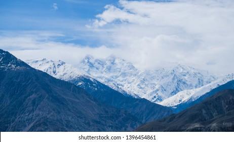 Veiw of Nanga Parbat Peak, Juglot, Pakistan