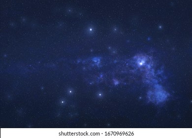 Vela Constellation in outer space. Sails constellation stars on the night sky. Elements of this image were furnished by NASA