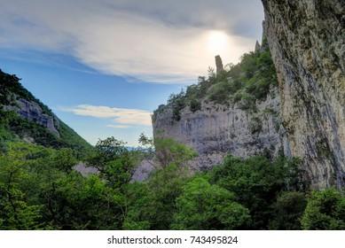 Vela Draga is a climbing area in Croatia's Ucka National Park