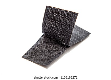 Velcro tape isolated on white