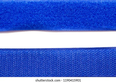 Velcro tape isolated on white background