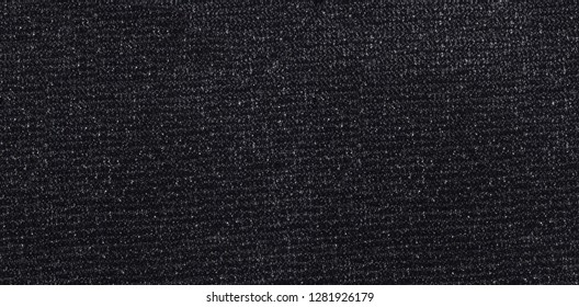 Velcro texture, background. Black hook and loop texture, abstract, pattern.