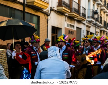 VELEZ-MALAGA, SPAIN - FEBRUARY 3, 2018