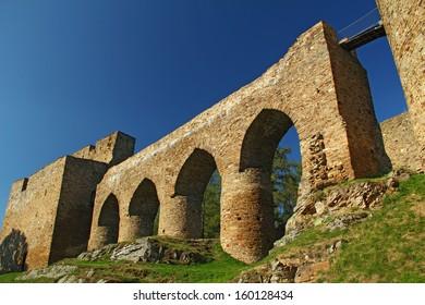 Velhartice castle, czech republic