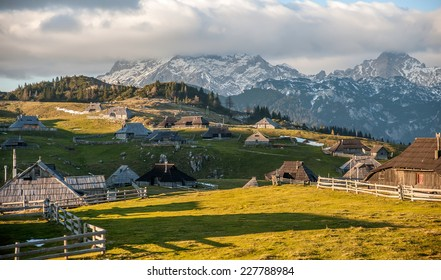 Velika Planina hill, Slovenia, Central Europe