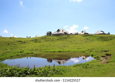 The Velika planina's one of the most beautiful place in Slovenia.