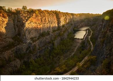 Velka Amerika quarry near Prague