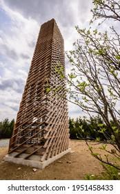 Velka Destna lookout tower in Orlicke Hory, Czech republic - Shutterstock ID 1951458433