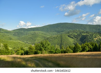 Velka Raca peak, dominant symbol of Kysucke Beskydy mountains close to Oscadnica, Slovakia