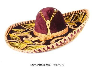 Velvet Mexican Sombrero