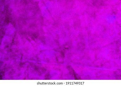 Velvet purple texture of seamless leather. Felt material macro. suede texture. Fabric, leather